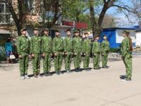участие в военно-спортивной игре «Победа».