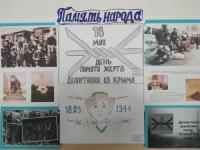 мероприятия ко Дню памяти жертв депортации народов Крыма