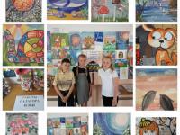 выставка работ учащихся 3-А класса «Вдохновение»