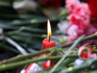 Прощальный молебен по жертвам трагедии в Керчи