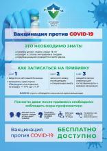 Важно! Вакцинальная кампания взрослого  населения Республики Крым против новой коронавирусной инфекции в 2021 г